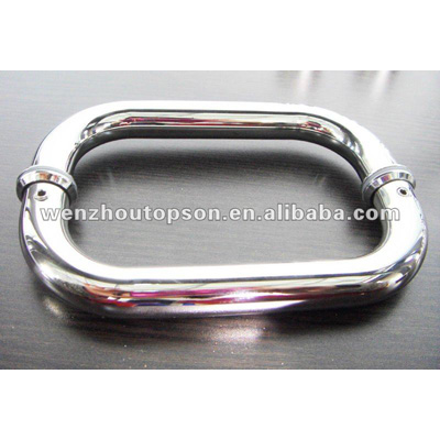 D style stainless steel pull handle