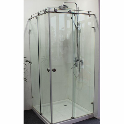 Frameless Glass Sliding Shower Cabin TP20