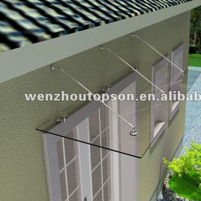 Stainless Steel Gc 02 Glass Door Canopyglass Awning Support System
