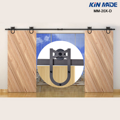 5FT-12FT track double sliding door hardware